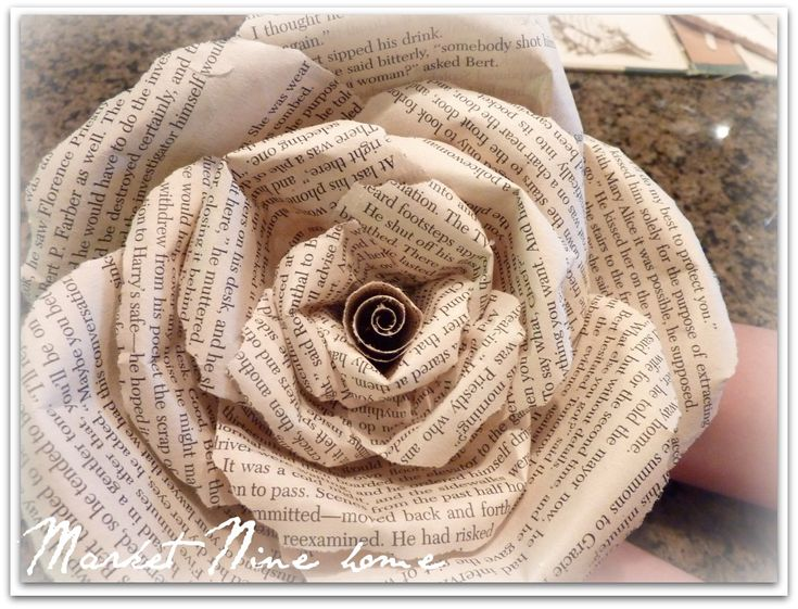 Best 28 paper ideas on pinterest book flowers papercraft and craft book page roses challenge accepted mightylinksfo