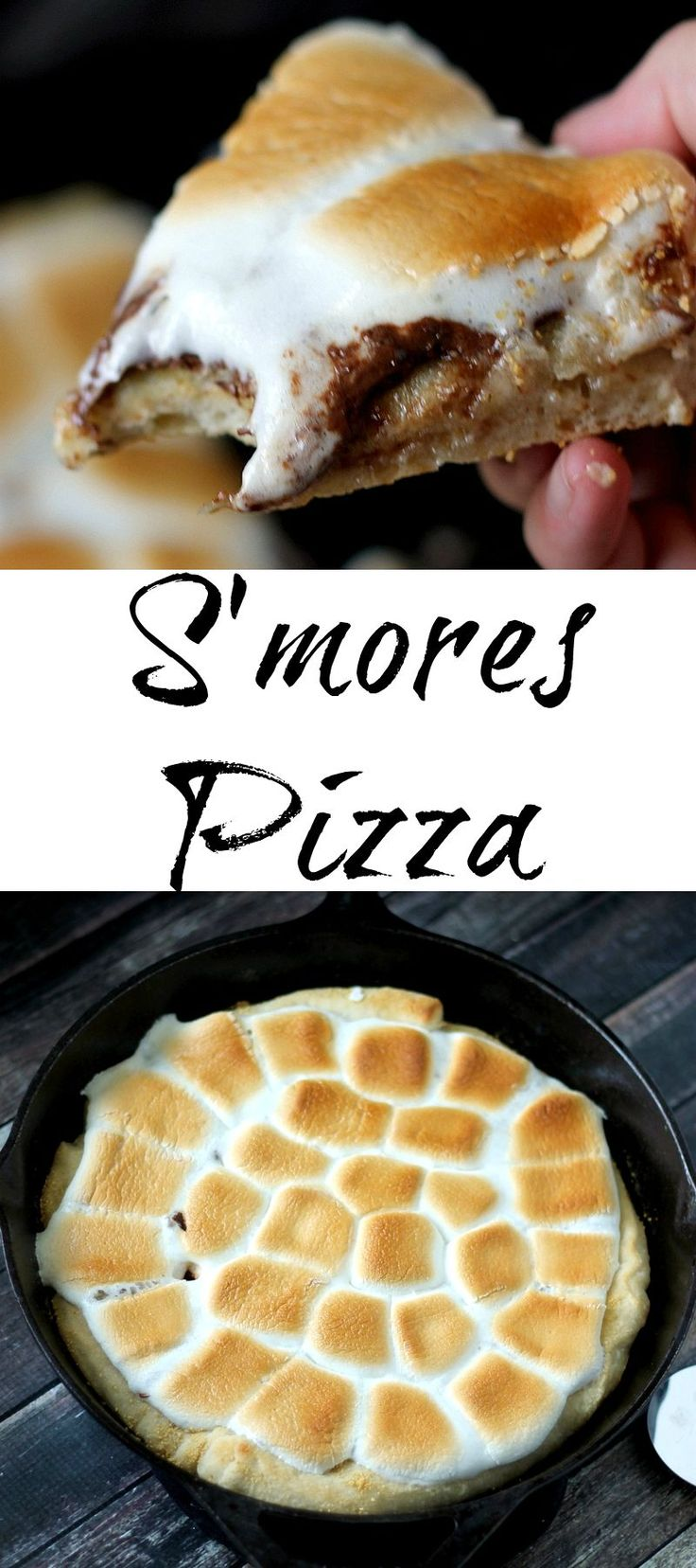 S'mores Pizza is the perfect dessert. It is easy to make and everyone will be begging for a piece!