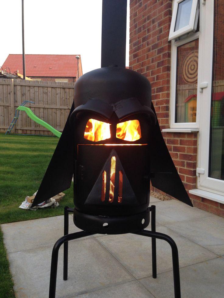 Diy Patio Fireplace