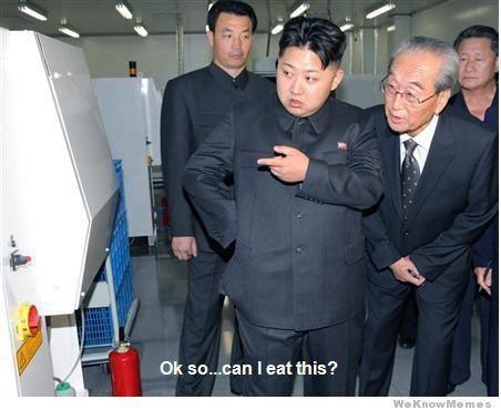 Nom nom nom! xD  25 of the best North Korea memes