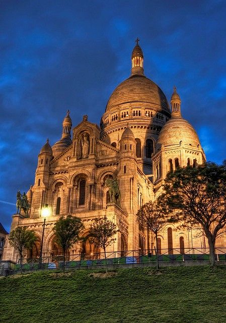 The Basilica of the Sacred Heart of Paris, commonly known as Sacré-Cœur…                                                                                                                                                                                 More