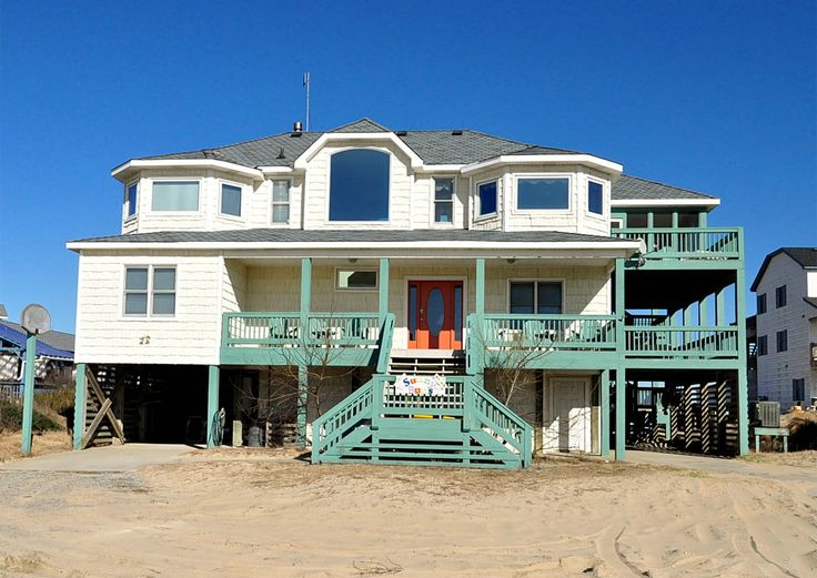 Sunnybuns R11483 Is An Outer Banks Oceanfront Vacation Rental In Ocean Beach 4x4 Nc That