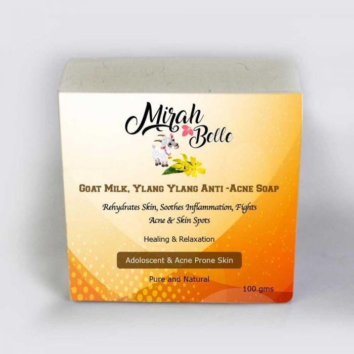 Buy natural goat milk rose hip anti aging soap online in