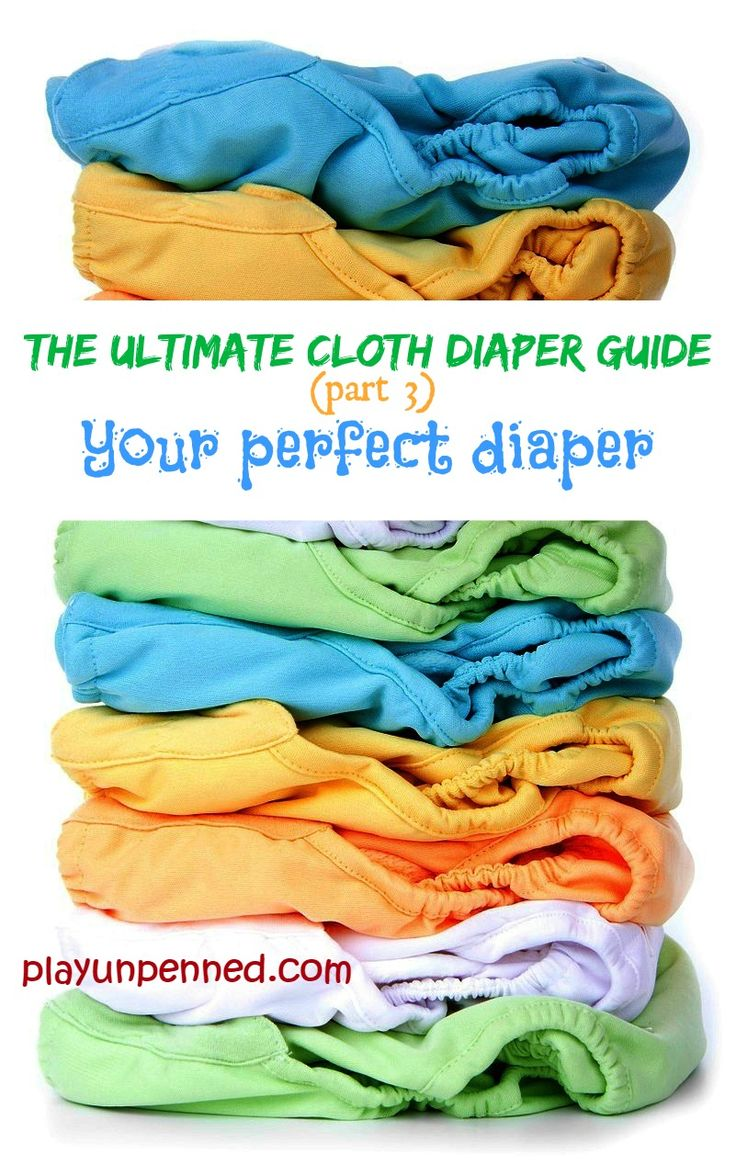 Fitteds, prefolds, pockets, soakers… Huh? Cloth diapering can be overwhelming to a newcomer who isn't used to all the terminology. In this post I'll break down the different types of diapers available and help you choose the perfect diaper for your needs.