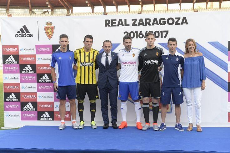 Camisas do Real Zaragoza 2016-2017 Adidas
