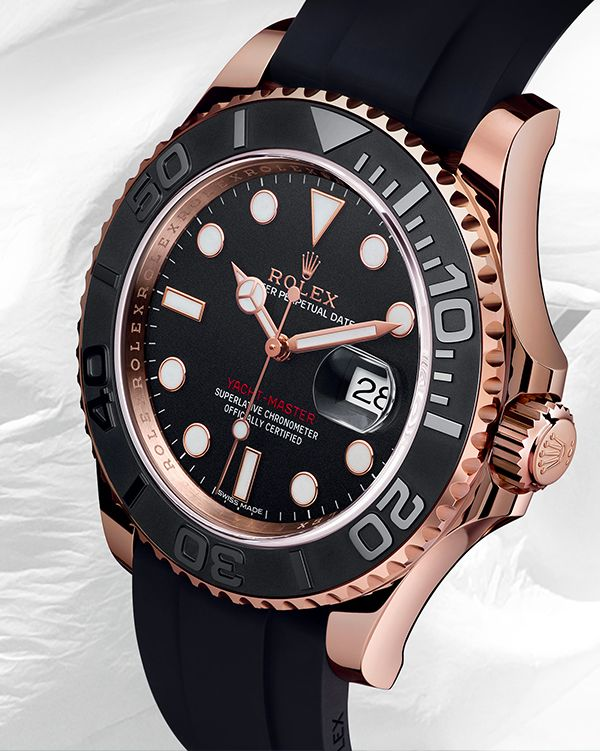 The Rolex Yacht-Master: naturally at home on a pitching deck or on the  firmer ground of a yacht club lounge.