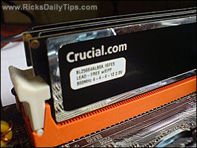 If your computer is under warranty, keep your old RAM sticks after a memory upgrade
