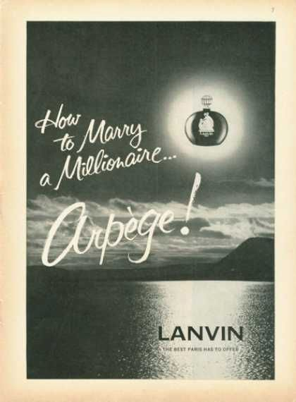 Hopefully, there are more detailed instructions on the bottle. (Funny bad retro perfume ads)