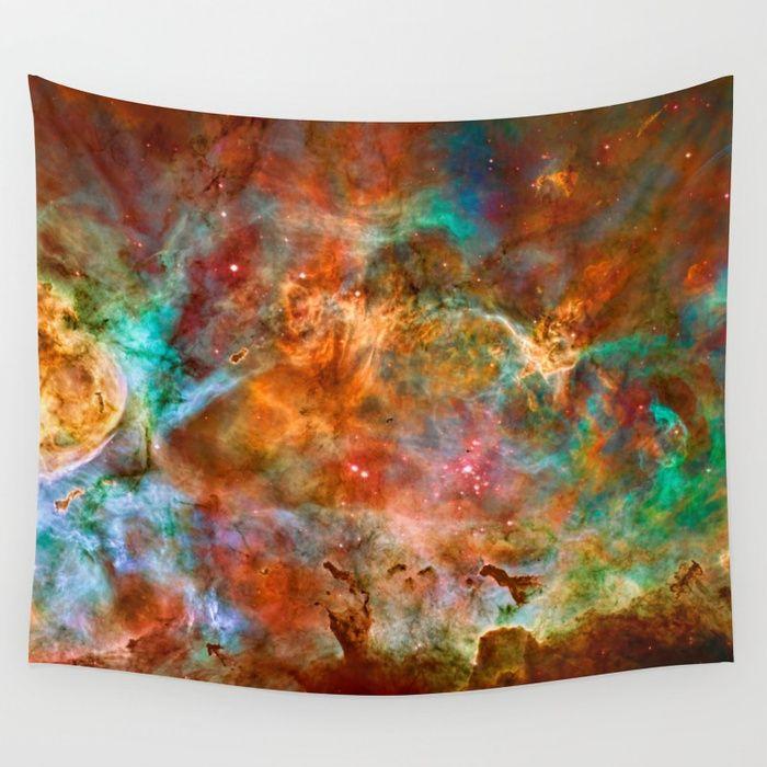 Yizzam TShirt Mens Long Sleeve Eta Carinae Nebula 1 Space Galaxy