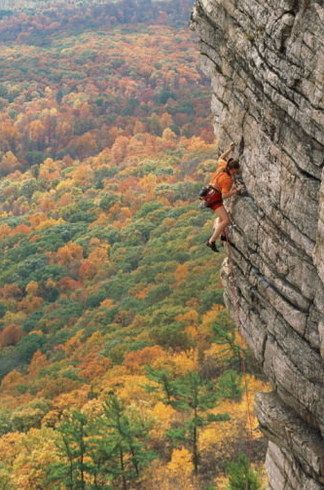 """16 Places To Go Rock Climbing Before You Die: (like here, in Shawangunks """"the Gunks"""" in New Paltz, New York)"""