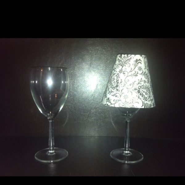 126 best images about wedding centerpiece ideas with led for Wine glass lamp centerpiece