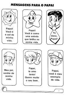 Cantinho Poético e Pedagógico - Dia dos Pais.