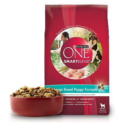 Large Breed - Puppy Food - Purina ONE® SMARTBLEND® remember this!