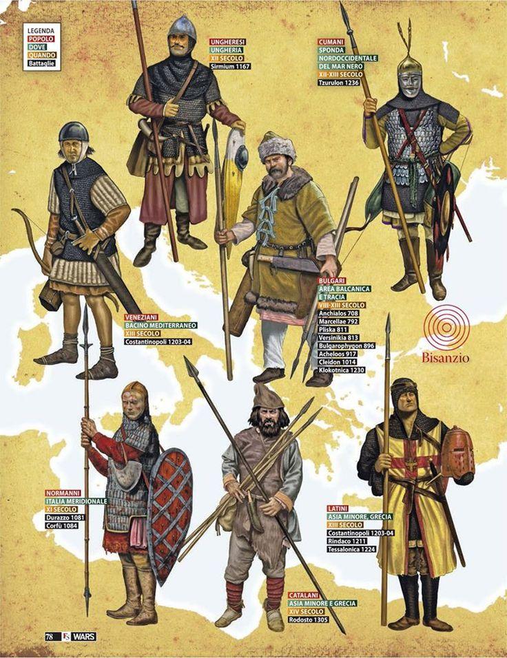 Giorgio Albertini - Focus Storia: Enemigos de Bizancio, siglos XI-XIV.