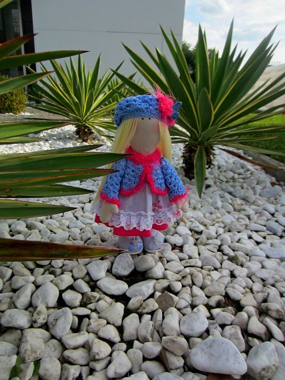 Interior doll  country girl by AnrisAnris on Etsy