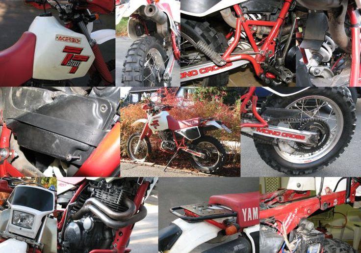Tunesien 2009 - Motorräder Yamaha SRX600 - TT600, Enduro + Gespanne, Beta Alp 4.0 - 400RR