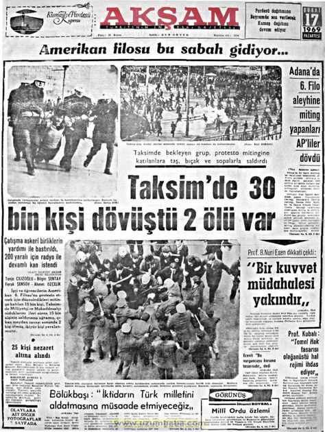 Akşam gazetesi 17 şubat 1969