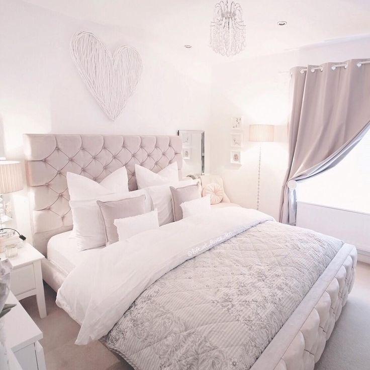 Warna Cat Kamar Tidur Romantis Putih Abu Abu