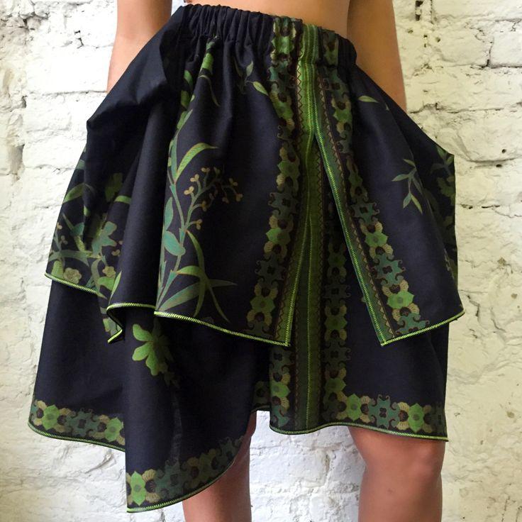 Bali Vulcano skirt, new boho skirt, boho-chic skirt, boho, tribal, bohemian skirt, юбка из хлопка, юбка в стиле бохо-шик, бохо юбка by lalaethnicwave on Etsy
