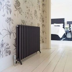 Grey radiators