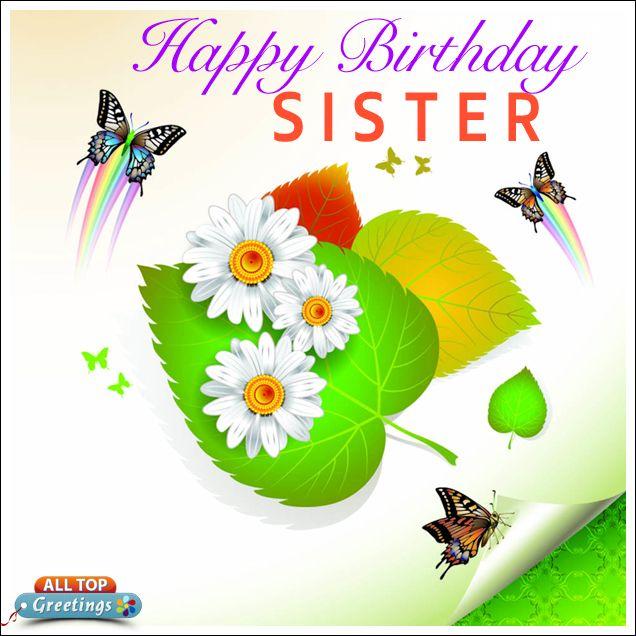 Happy Birthday To My Wonderful Sister Images Birthday Wishes