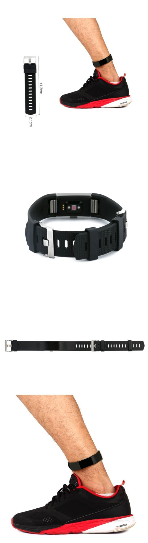 Fit Tech Parts and Accessories 179799: Ankle Wristband Strap Accessories For Fitbit Charge 2 And Hr Band Extender Xl W -> BUY IT NOW ONLY: $36.4 on eBay!