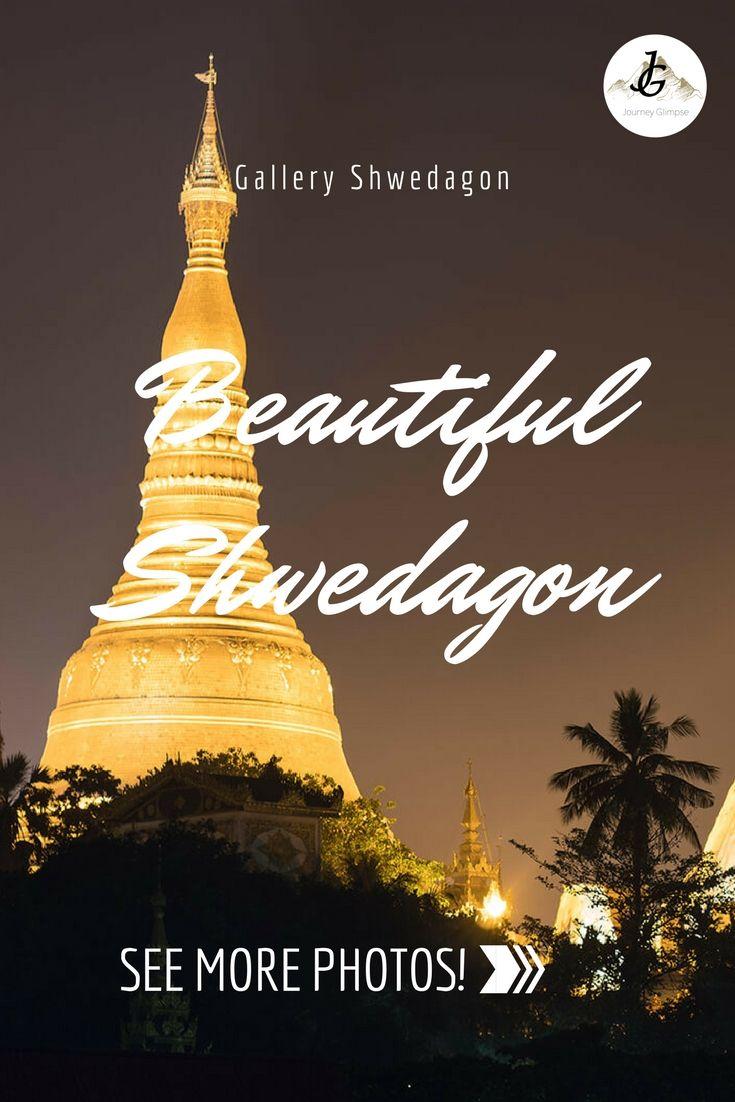 Die Shwedagon Pagode ist das grösste Heiligtum von Myanmar.