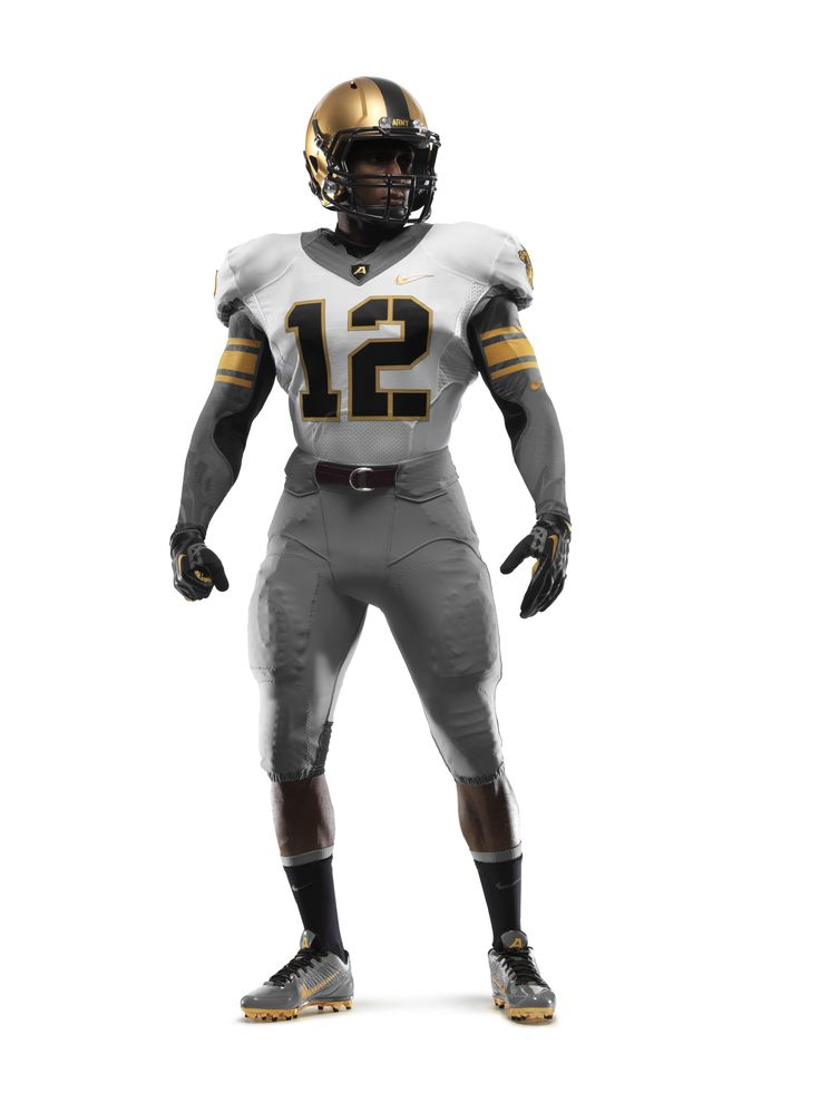 The front of Army\u0027s uniform for the Army-Navy Game presented by USAA. NIKE