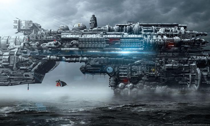Aquaticon - The Bridge Sector by MarkusVogt.deviantart.com on @deviantART