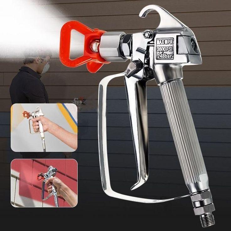 3600PSI Pressure Airless Paint Spray Gun