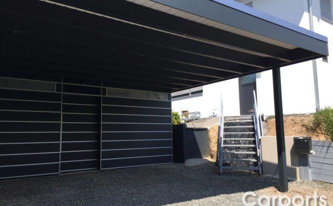 Carport Bauhaus Hpl Trespa Die Witterungsbestandige Variante Garagem