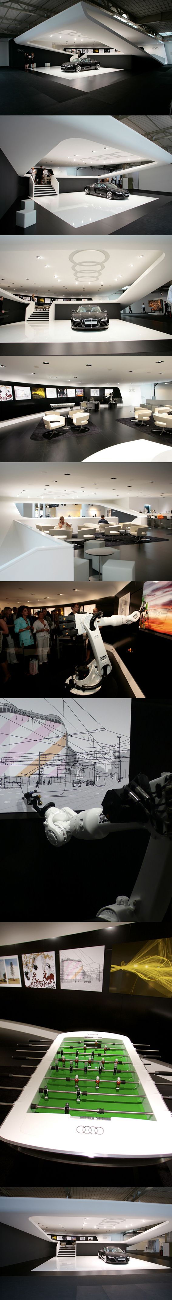 Audi / Art Basel 2008   At the Design Miami/Basel Audi presents itself as creative manufacturer with trendsetting design.