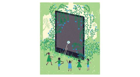 7 House Rules for Limiting Screen Time All Summer | Banishing electronics completely may not be feasible, but free time can become a free-for-all unless you have a plan. Start your summer with a family meeting—and these guidelines.