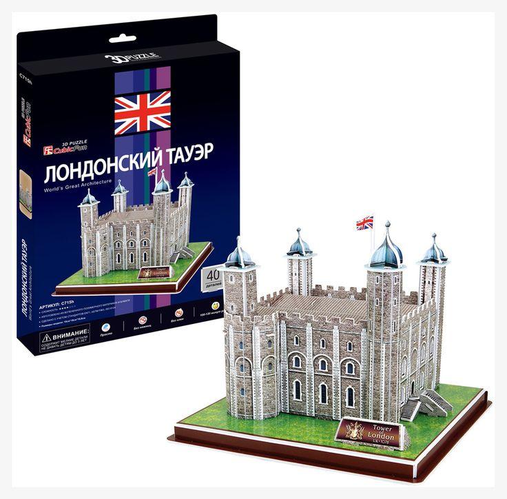 3D Пазл «Лондонский Тауэр» CubicFun