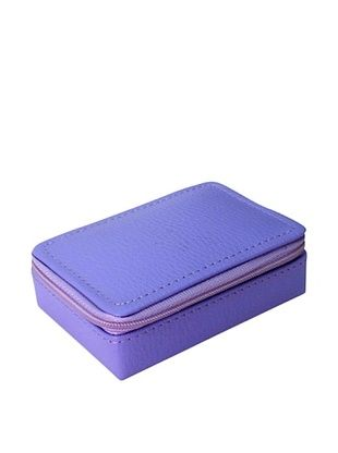 32% OFF Morelle & Co. Vicky Zippered Jewelry Case, Violet Tulip