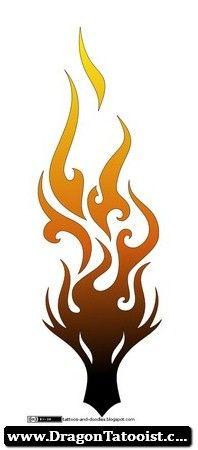 Dragon Tattoo Fire   Dragon Tattoos