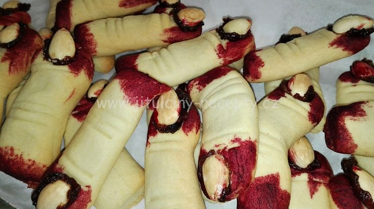 """""""PRSTY STARÉ ČARODĚJNICE"""" - Halloweenské sušenky"""