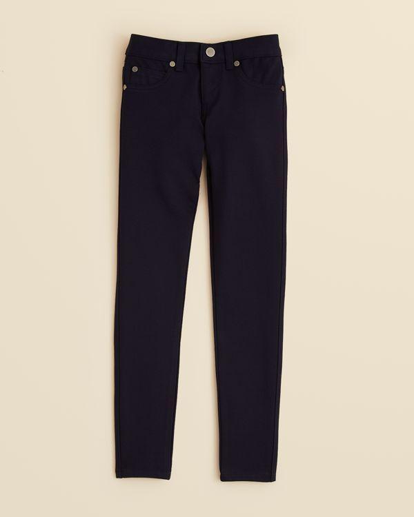 Aqua Girls' Ponte Pants - Sizes 7-16
