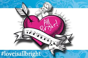 Osallistu Love is All Bright! -ohjelmaan