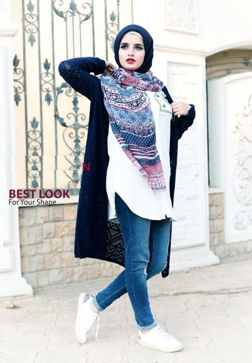 casual-sporty-hijab-style- Winter hijab style from Egypt http://www.justtrendygirls.com/winter-hijab-style-from-egypt/