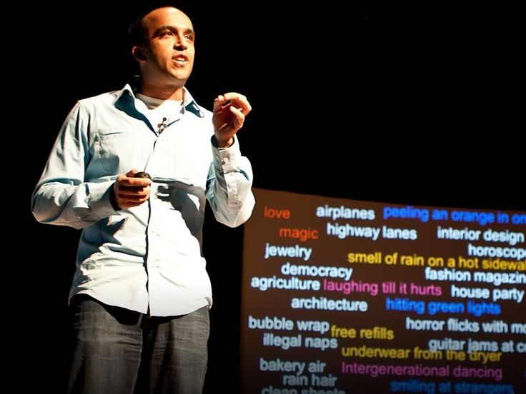 Neil Pasricha's blog 1000 Awesome Things savors life's simple pleasures, from free refills to clean sheets. In this heartfelt talk, he reveals the 3 secrets (all starting with A) to leading a life that's truly awesome. <em>(Filmed at <a href=http://www.ted.com/tedx/events/774>TEDxToronto</a>.)</em>