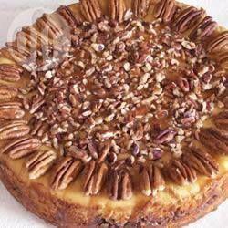 Cheesecake au potiron @ allrecipes.fr