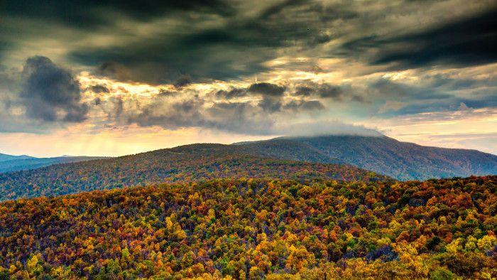 3. After the Storm in Shenandoah National Park, Morning Star