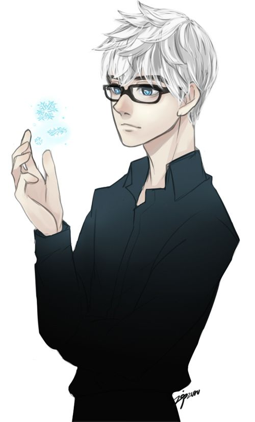 Mr.Frost … ?  He looks really sexy in glasses