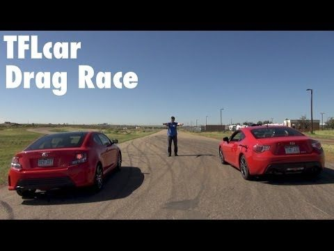 2014 Scion FR-S vs tC Drag Race Part 1 and 2: And the best Scion Sports car is?