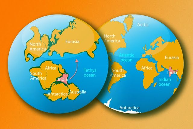 For years, scientists have struggled to explain how India could have drifted northward so quickly. Now geologists at MIT have offered up an answer: India was pulled northward by the combination of two subduction zones -- regions in the Earth's mantle where the edge of one tectonic plate sinks under another plate. As one plate sinks, it pulls along any connected landmasses. The geologists reasoned that two such sinking plates would provide twice the pulling power, doubling India's drift…