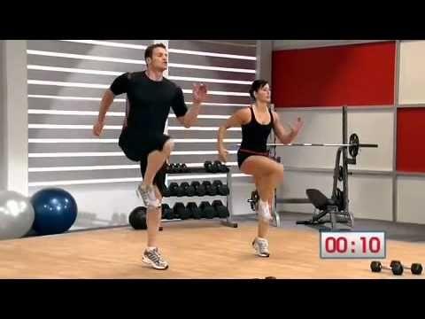 Mens Health Circuit Workout - Part 1  Spartacus Workout