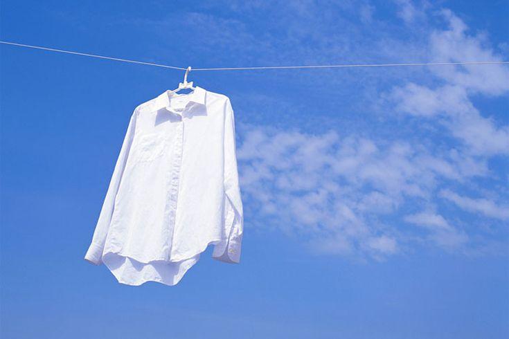 Wäsche bleichen: wieder strahlend weiße Wäsche