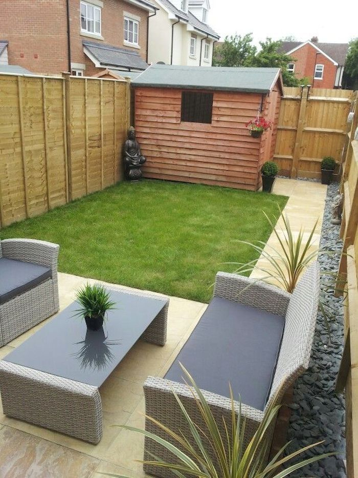 10 Clever Landscape Design Plans And Improvements For A Small Backyard Simphome Easy Small Garden Ideas New Build Garden Ideas Simple Garden Designs