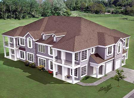 Best 25 multi family homes ideas on pinterest family for Multi family house plans